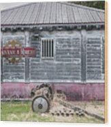 Rum Factory Wood Print