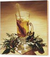Rum Hot Toddy Wood Print
