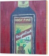 Rum Wood Print by Patrice Tullai