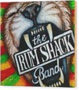 Rum Shack Roaring Lion Wood Print