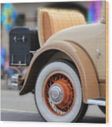 Rumble Seat Wood Print