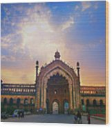 Rumi Gate Wood Print