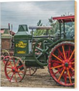 Rumley Oil Pull Tractor Wood Print