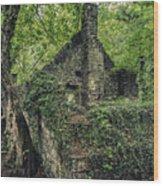 Run Down Mill Wood Print