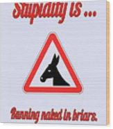 Running Bigstock Donkey 171252860 Wood Print