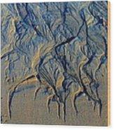 Runoff 2b Wood Print