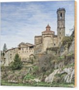 Rupit I Pruit In Catalonia Wood Print