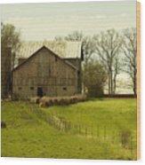 Rural Americana-01 Wood Print