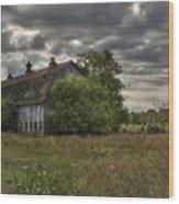 Rural Clayton Wood Print