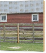 Rural Patterns Wood Print
