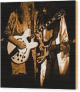 Rush 77 #52 Enhanced In Amber Wood Print