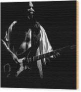 Rush 77 #56 Enhanced Bw Wood Print