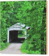 Rush Creek Wood Print