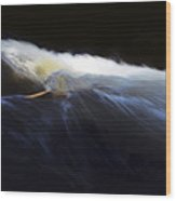 Rushing Water 0480a Wood Print
