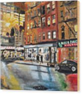 Russ And Daughters Wood Print