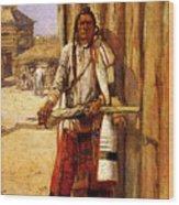 Russell Charles Marion Buffalo Coat Wood Print