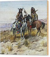 Russell Charles Marion On The Prowl Wood Print