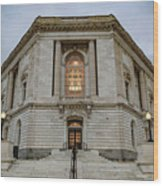 Russell Senate Office Building Wood Print