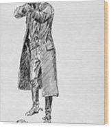 Russell: Stage Robber Wood Print