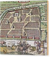 Russia: Moscow, 1591 Wood Print