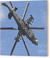 Russian Air Force Ka-52 Helicopter Wood Print