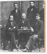 Russian Marxists, 1897 Wood Print