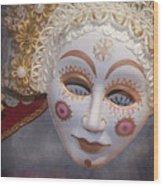 Russian Mask 4 Wood Print
