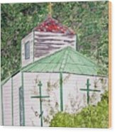 Russian Orthodox In Hoonah Wood Print