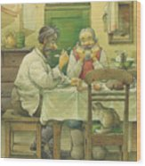 Russian Scene 08 Wood Print