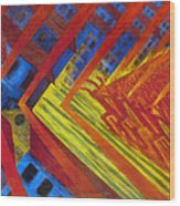 Russolo: Revolution, 1911 Wood Print