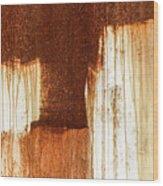 Rust 02 Wood Print