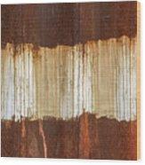 Rust 04 Wood Print