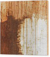 Rust 05 Wood Print