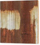 Rust 06 Wood Print