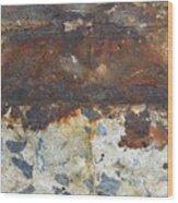 Rust 14 Wood Print