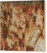 Rust 18 Wood Print