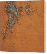 Rust 2 Wood Print
