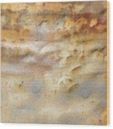 Rust 23 Wood Print