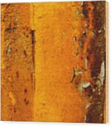 Rust Abstract 2 Wood Print