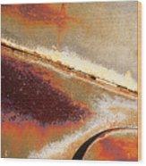 Rust Is Beautiful 1 Wood Print