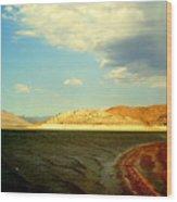 Rust Lake Wood Print