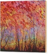 Rusted Glory 311 Wood Print