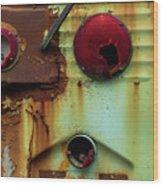 Rusted Series 5 Wood Print