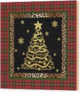 Rustic Christmas-jp3697 Wood Print