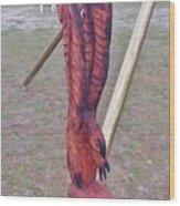 Rustic Eagle 2 Wood Print