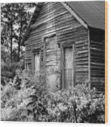 Rustic Homestead - Antique Home Barn Country Rural Wood Print