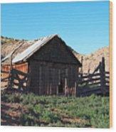 Rustic In Colorado Wood Print
