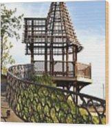 Rustic Memorial Wood Print