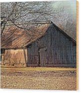 Rustic Midwest Barn Wood Print
