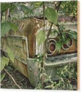 Rustic Rear Wood Print